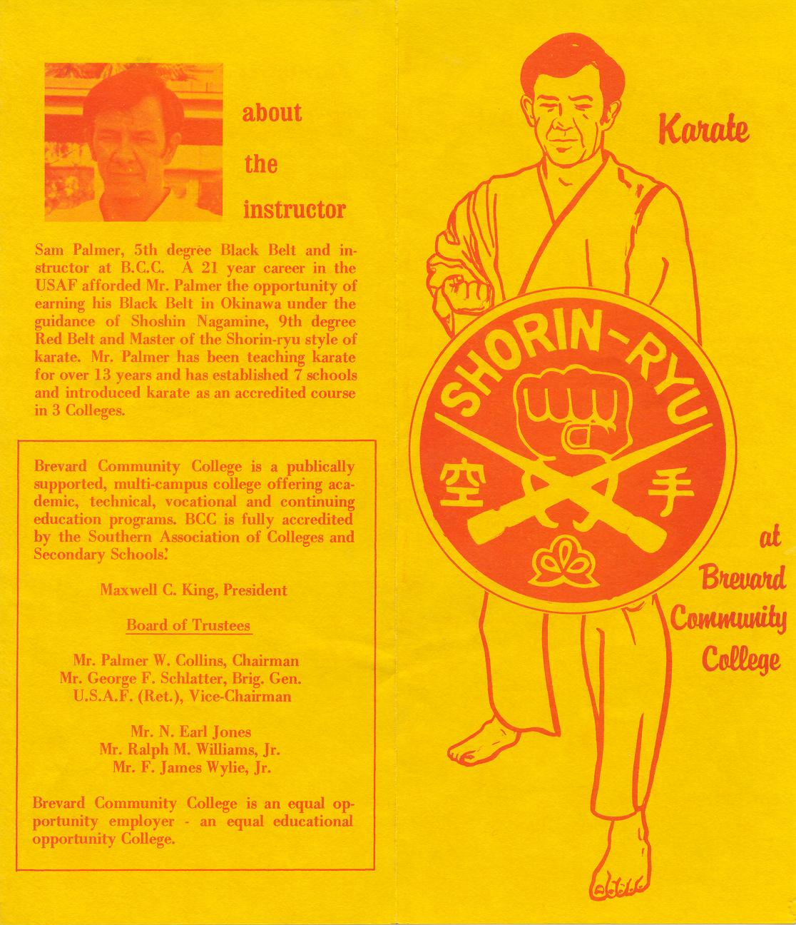 Brevard Community College Flyer, 1973