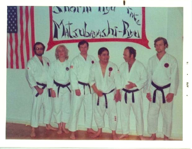 Ukn, Ukn, Palmer Sensei, Ueshiro Sensei, Ukn, Ukn