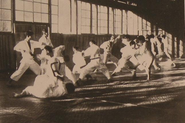 Early Dojo Scene