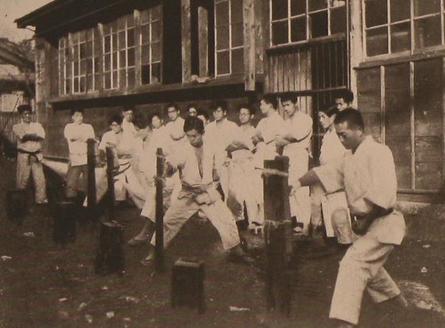 Early Makiwara Practice