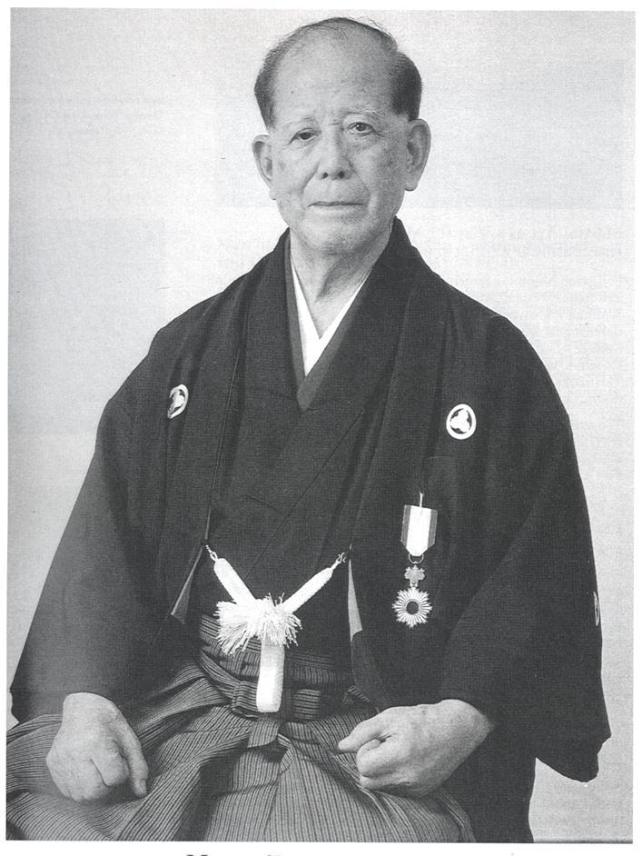 Osensei - formal pose for dojo