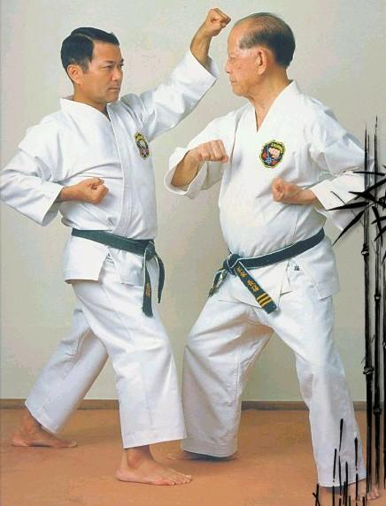 Osensei & Takayoshi Nagamine