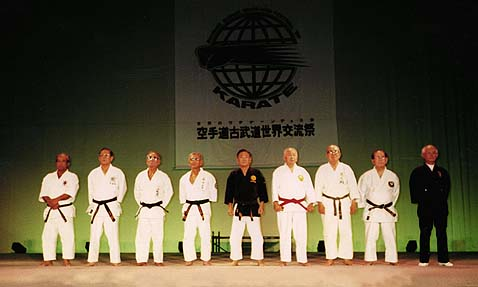 Osensei, 2nd from the right
