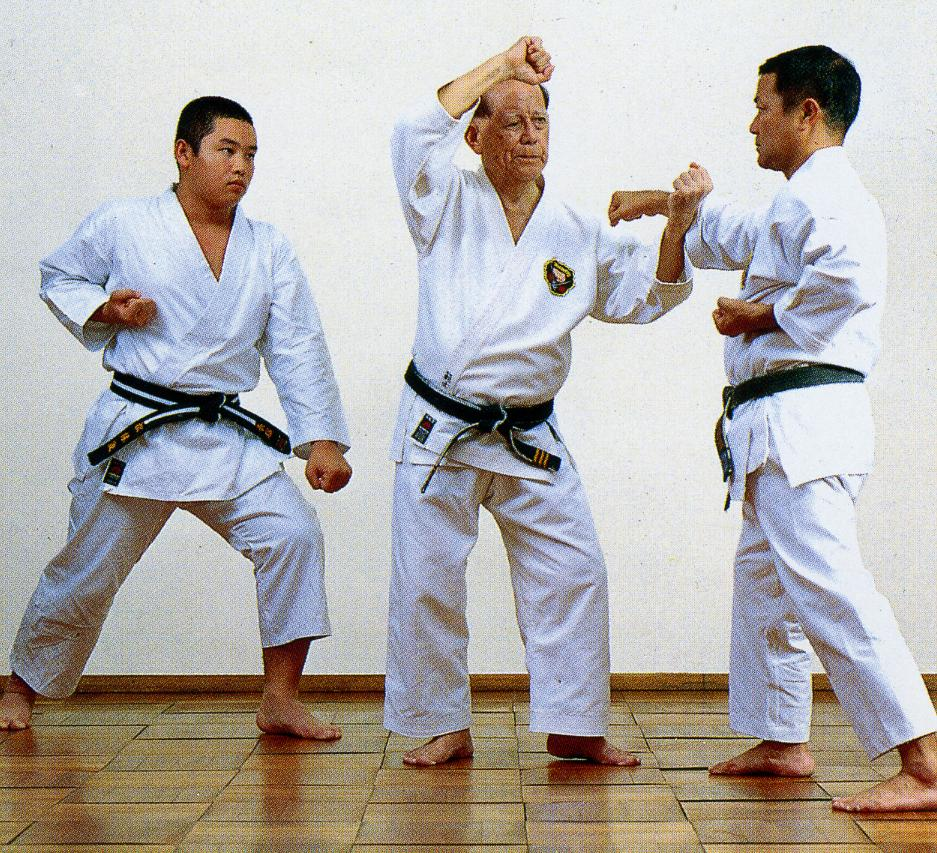 Three generations of Matsubayashi-ryu