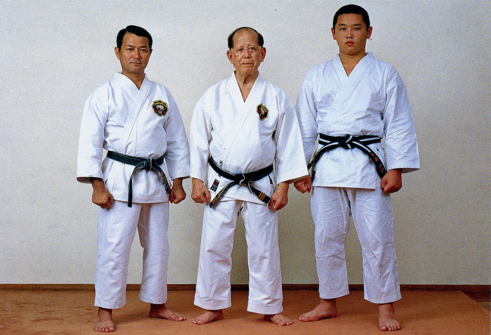 Three generations of Matsubayashi-ryu